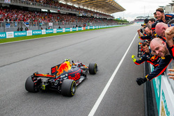 Racewinnaar Max Verstappen, Red Bull Racing RB13