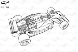 Brabham BT55 3/4 view