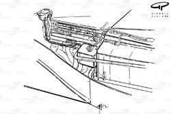 Элементы компоновки Ferrari F1-91 (642) 1991 года