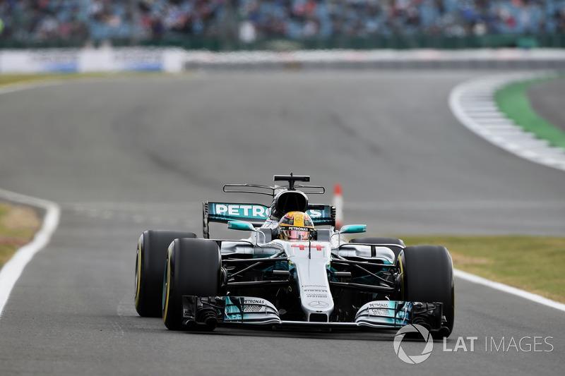 Lewis Hamilton, Mercede AMG F1 W08