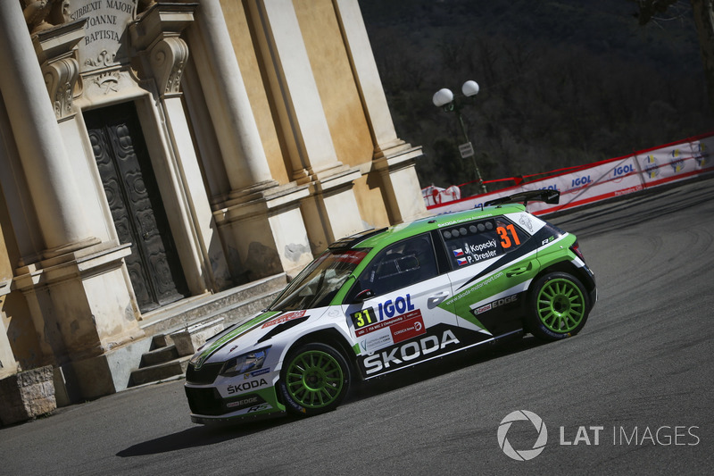 Jan Kopecky, Pavel Dresler, Škoda Motorsport Škoda Fabia R5