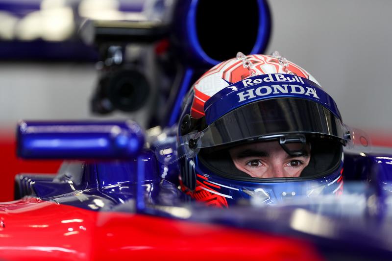 Марк Маркес тестує болід Ф1 Toro Rosso