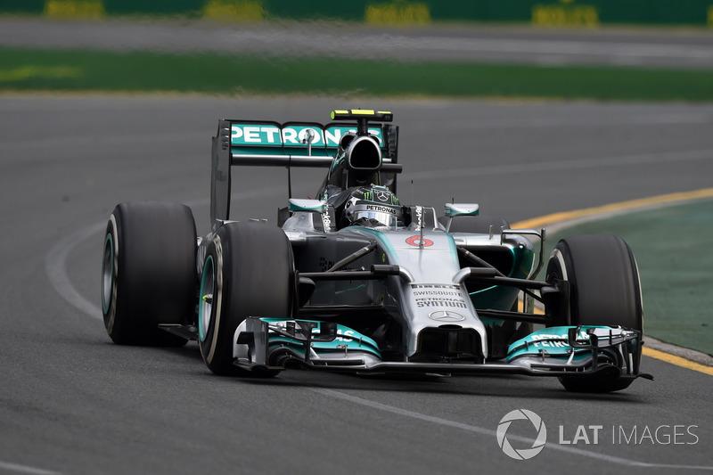 2014. Переможець: Ніко Росберг, Mercedes AMG F1 W05