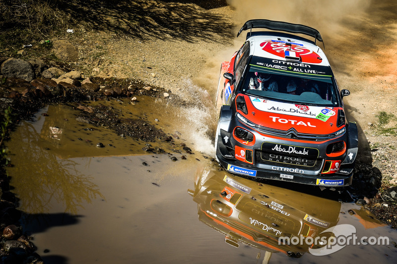 Sébastien Loeb, Daniel Elena, Citroën C3 WRC, Citroën World Rally Team