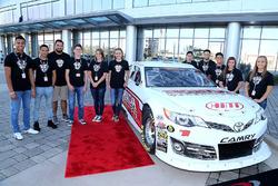 2017 NASCAR Drive for Diversity Combine participants at NASCAR headquarters