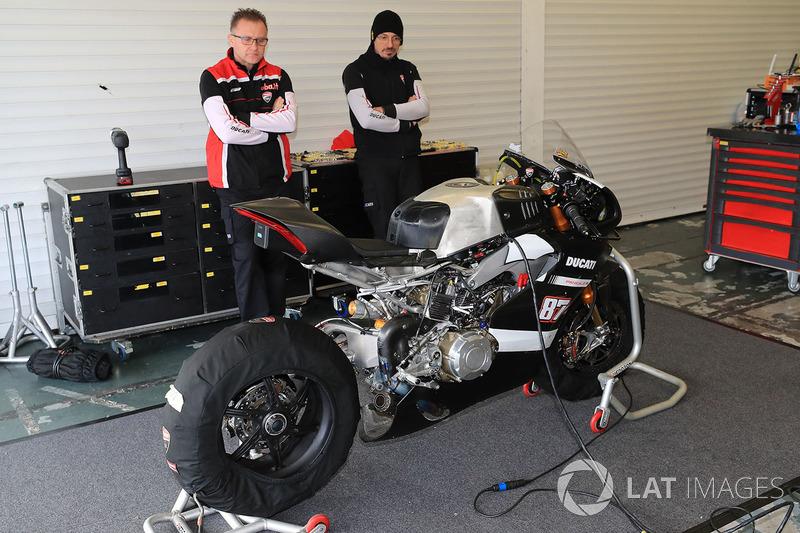 Ducati of Lorenzo Zanetti