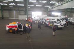 Команды в порту Гавр перед отправкой в Лиму