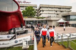 Marcus Ericsson ve Charles Leclerc, Sauber