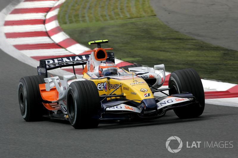 2007: Renault R27 (один подиум, 3-е место в КК)