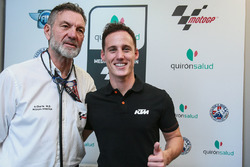 Pol Espargaro, Red Bull KTM Factory Racing, Dr Angel Charte, Medical Director MotoGP