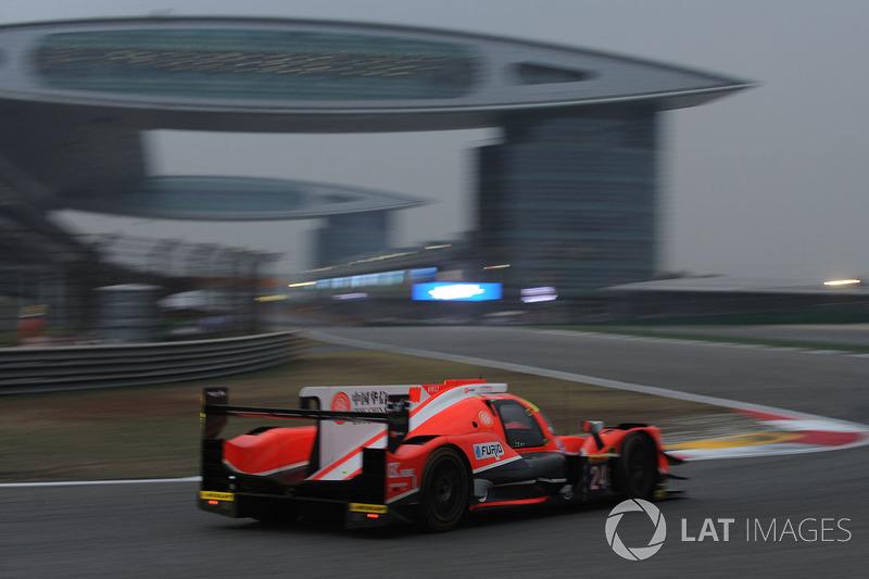 9. LMP2: #24 CEFC Manor TRS Team China, ORECA 07-Gibson
