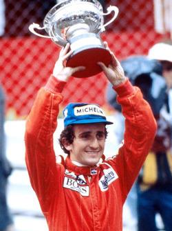 Победитель Ален Прост, McLaren
