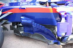Detalle de los pontones del ST13 de la Scuderia Toro