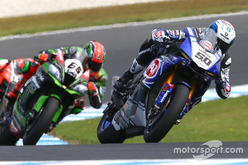 Sylvain Guintoli, Pata Yamaha et Tom Sykes, Kawasaki Racing Team