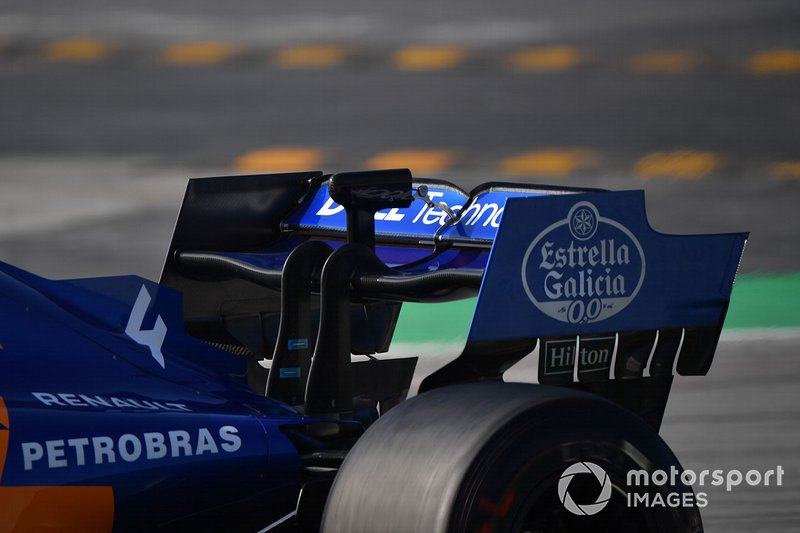 Заднее крыло McLaren MCL34