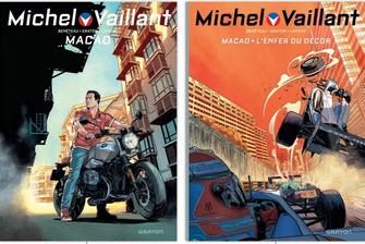 Couverture Michel Vaillant Macao