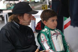 Emerson Fittipaldi y Emerson Fittipaldi Jr.