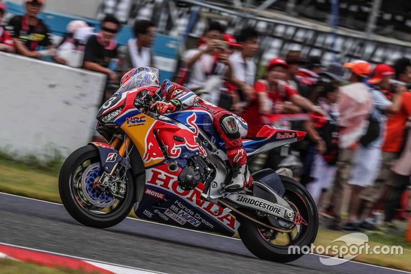 #33 Red Bull Honda: Takaaki Nakagami, Takumi Takahashi, Patrick Jacobsen