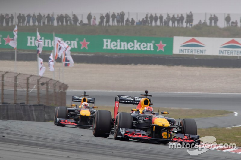 Pierre Gasly, Max Verstappen, Red Bull Racing RB7