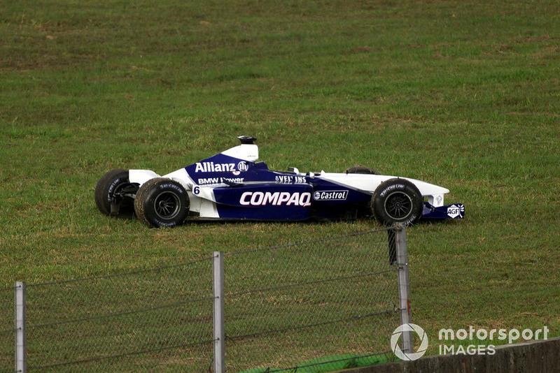 GP de Brasil 2001 (Jos Verstappen vs. Juan Pablo Montoya)