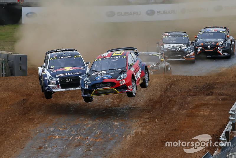 Kevin Eriksson, Olsbergs MSE, Andreas Bakkerud, EKS Audi Sport