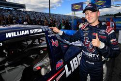 Race winner William Byron, Kyle Busch Motorsports Toyota