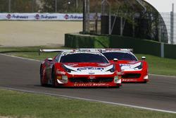 #72 Ferrari 458 Italia-GT3, Scuderia Baldini 27 Network: Leo-Cheever e #91 Ferrari 458 Italia-GT3, Scuderia Baldini 27 Network: Casè-Tempesta