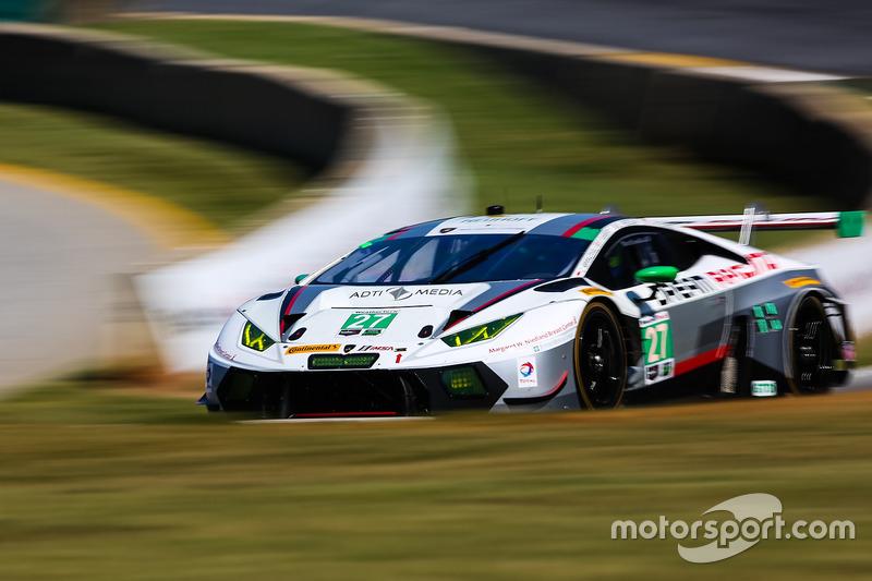 #27 Dream Racing, Lamborghini Huracan GT3: Cedric Sbirrazzuoli, Lawrence DeGeorge, Paolo Ruberti