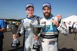 Maxime Potty en Stefano Comini, Team WRT