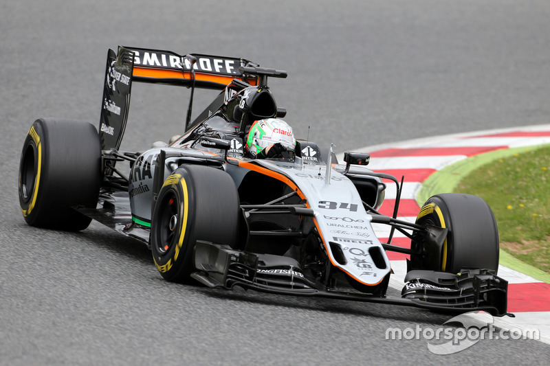 Alfonso Celis Jr., Force India