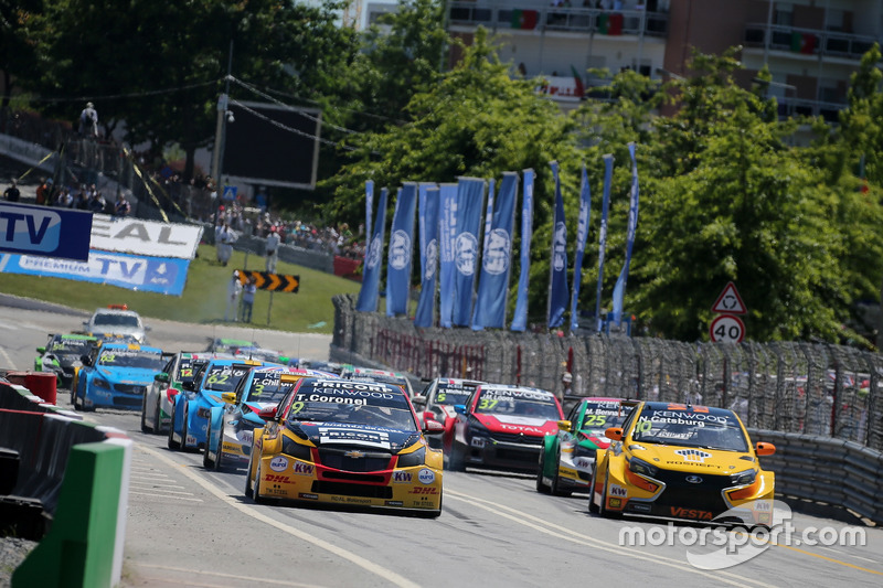 Start, Tom Coronel, Roal Motorsport, Chevrolet RML Cruze TC1 lider