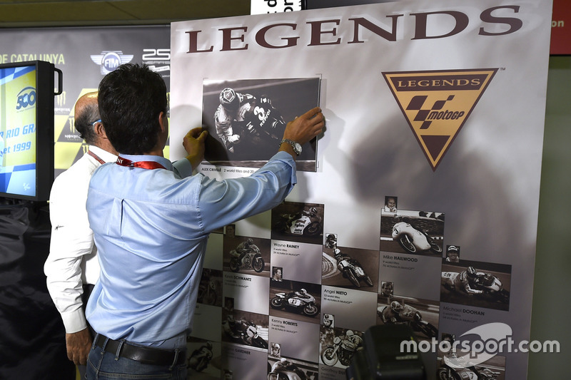 Alex Criville, MotoGP legends award