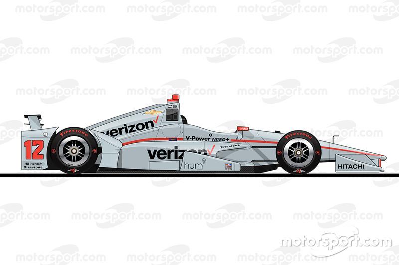 Startpositie 6: Will Power (Penske-Chevrolet)