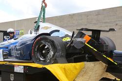 Макс Чілтон, Chip Ganassi Racing Chevrolet crashed car