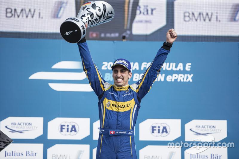 Formel E: Sébastien Buemi, Renault e.Dams