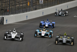 Simon Pagenaud, Team Penske Chevrolet, Ed Carpenter, Ed Carpenter Racing Chevrolet, Gabby Chaves, Harding Racing Chevrolet