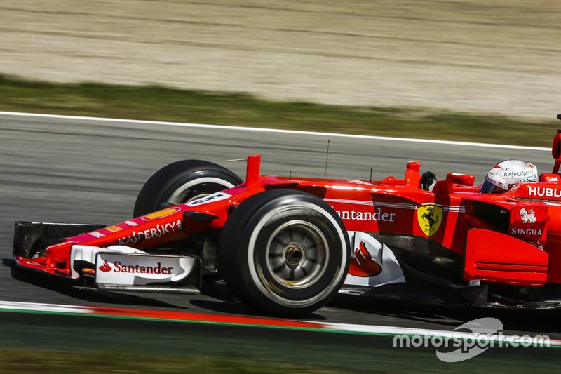 2: Себастьян Феттель, Ferrari SF70H