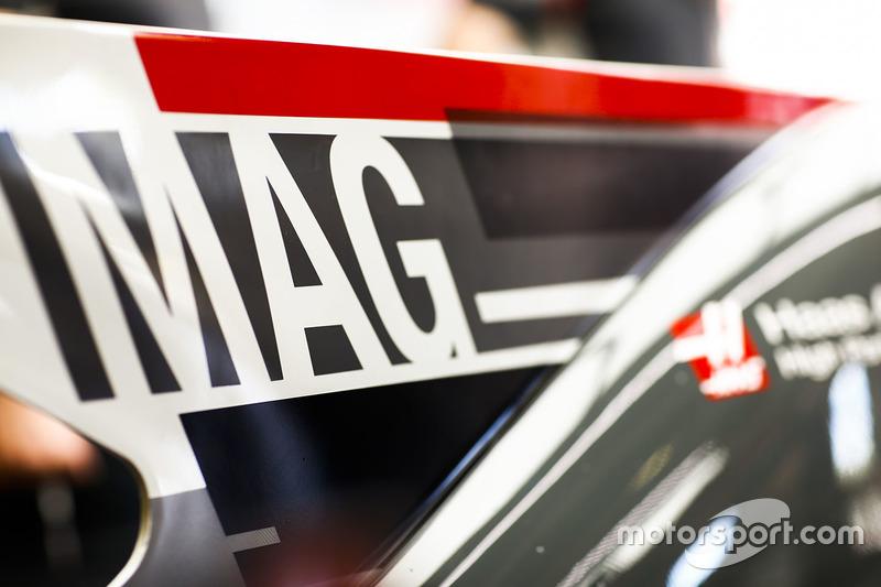 Nueva imagen en el coche de Kevin Magnussen, Haas F1 Team