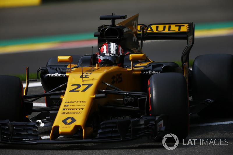 7: Nico Hulkenberg, Renault Sport F1 Team RS17