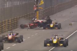 Crash Macau Grand Prix