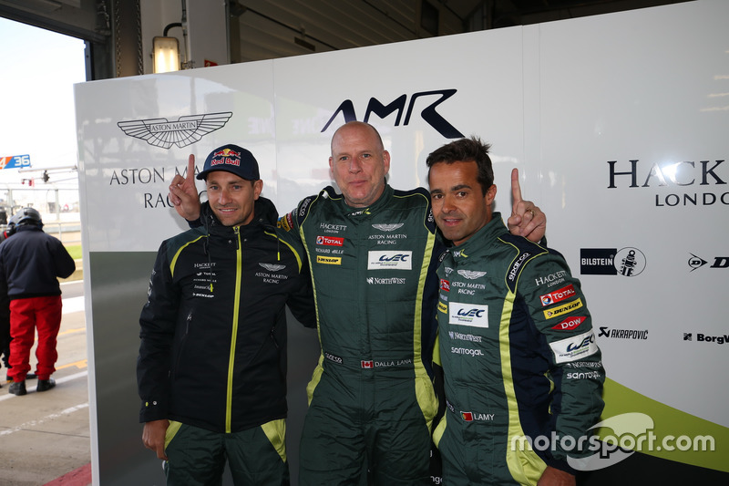 Pole position GTE-Am: #98 Aston Martin Racing Aston Martin Vantage:  Mathias Lauda, Paul Dalla Lana, Pedro Lamy