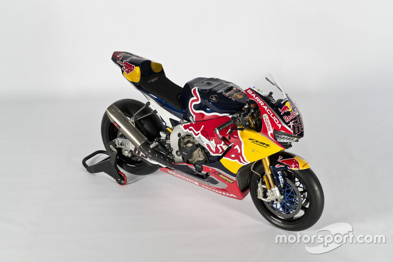 La moto di Nicky Hayden, Honda World Superbike Team