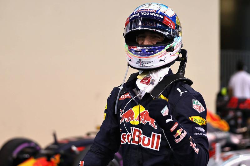 3. Daniel Ricciardo, Red Bull Racing