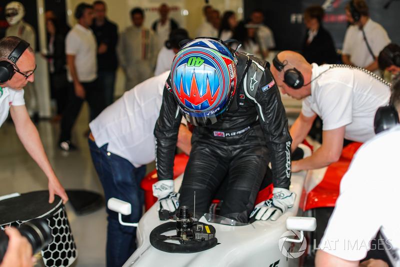Paul di Resta, F1-Doppelsitzer