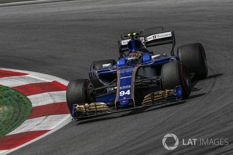 14. Паскаль Верляйн, Sauber C36