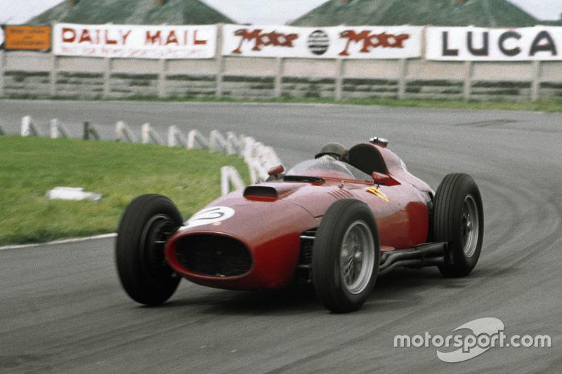 1957: Ferrari 801 (семь подиумов)