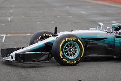 Mercedes AMG F1 W08 Hybrid: Frontpartie