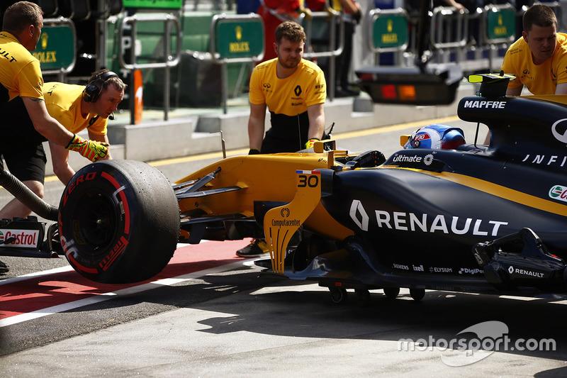 19: Джоліон Палмер, Renault Sport F1 Team RS17