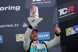 Podium: Jean-Karl Vernay, Leopard Racing Team WRT, Volkswagen Golf GTi TCR
