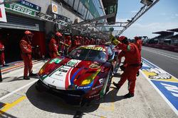 #51 AF Corse Ferrari 488 GTE: Джеймс Каладо, Алессандро П'єр Гуіді, Мікеле Руголо